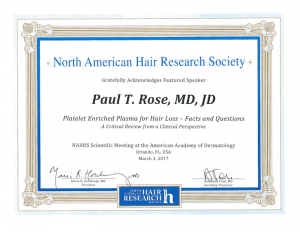 North American Hair Research Society Certification