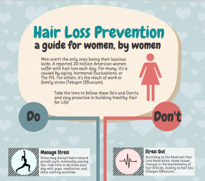 Visit Us on Facebook for Free Hair Health Infographics