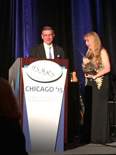 Dr. Nusbaum Awarded 2015 Golden Follicle Award