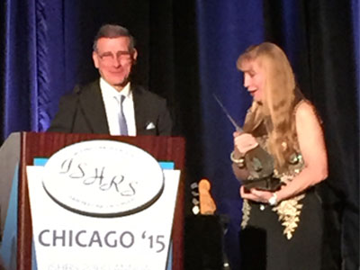 Dr. Nusbaum Awarded 2015 ISHRS Golden Follicle