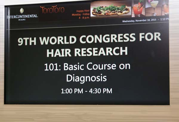 Dr. Nusbaum Attends 9th World Congress for Hair Research 5
