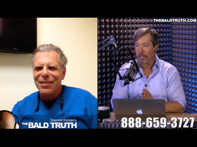 Watch as Dr. Rose Discusses Mosaic™ Hair Restoration on The Bald Truth