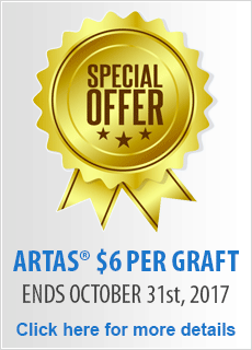 Special Offer: $6 Per Graft in October!