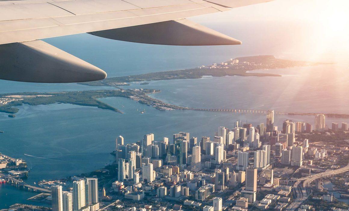 Traveling to Miami, Florida